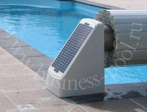 Фото: Надводные жалюзи с солнечной батареей EcoTop