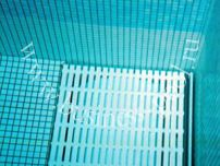 Фото: Подводное размещение вала сматывающего устройства жалюзи с донной решеткой