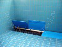 Фото: Подводное размещение вала жалюзи с автоматической донной решеткой