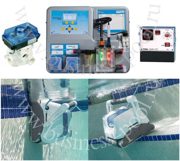 Фото: Автоматические системы для бассейнов