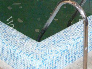 Фото: Качественная отделка внешней стенки бассейна