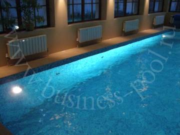 Фото:Освещение бассейна