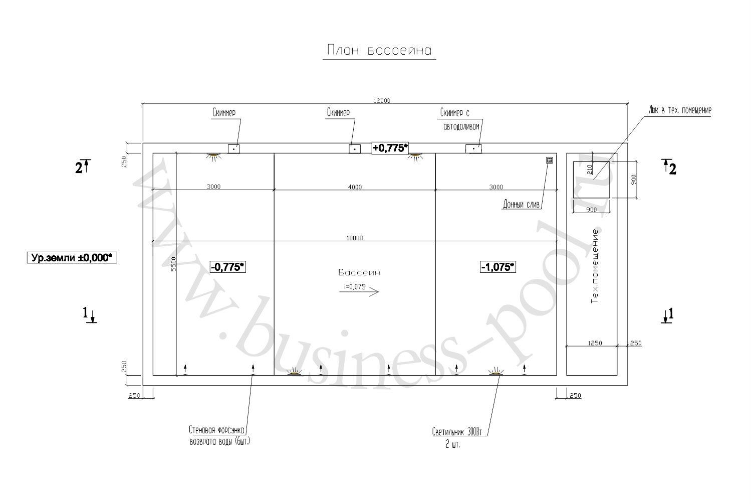 Планировка проекта тз-0036-с