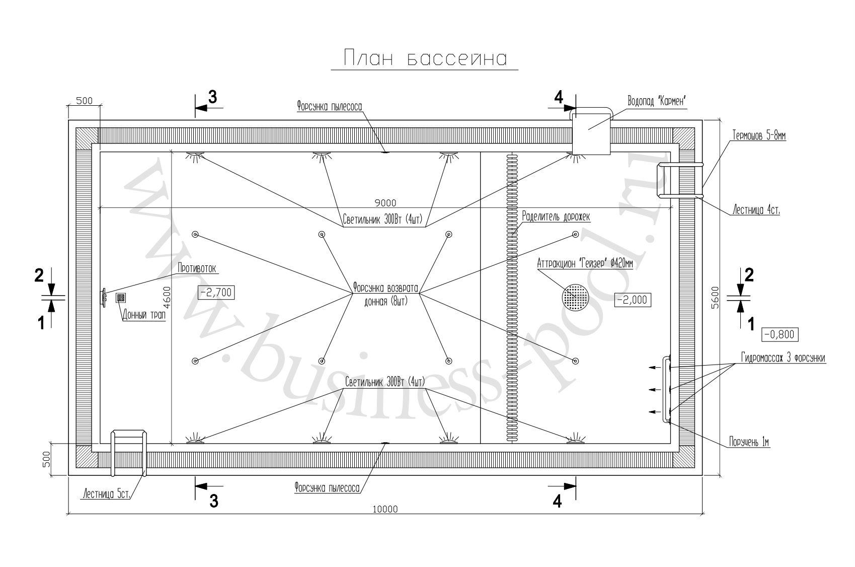 Планировка проекта тз-0009-п
