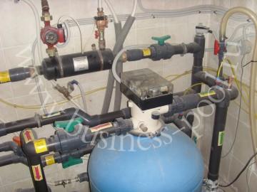 Фото: Монтаж оборудования – автоматический вентиль промывки фильтра