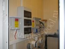 Фото: Щит электрический, станция дозации химических реагентов