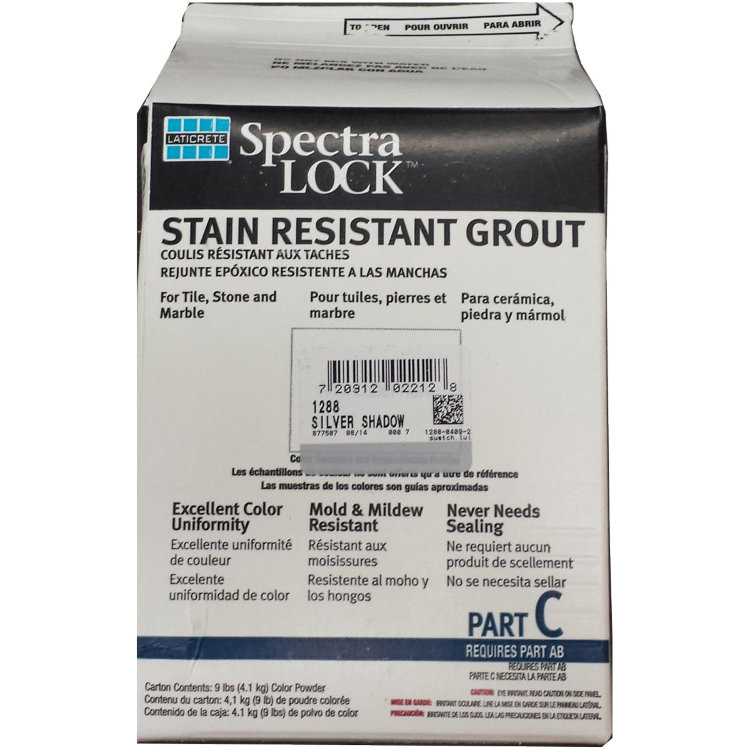 Laticrete SpectraLOCK PRO Grout Part C Color Powder (1 и 2 цветовая группа), 4,5 кг.